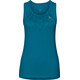 Odlo Sella Singlet Women crystal teal-placed print SS18